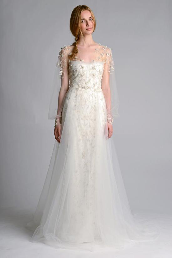 Wedding dress by Marchesa Fall 2014 Bridal 13