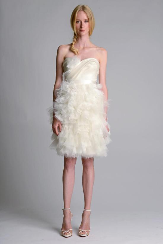 photo of Ethereal New Wedding Dresses from Marchesa