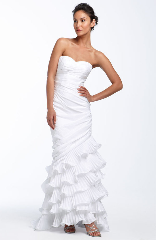 photo of Dalia MacPhee mermaid wedding dress, $298