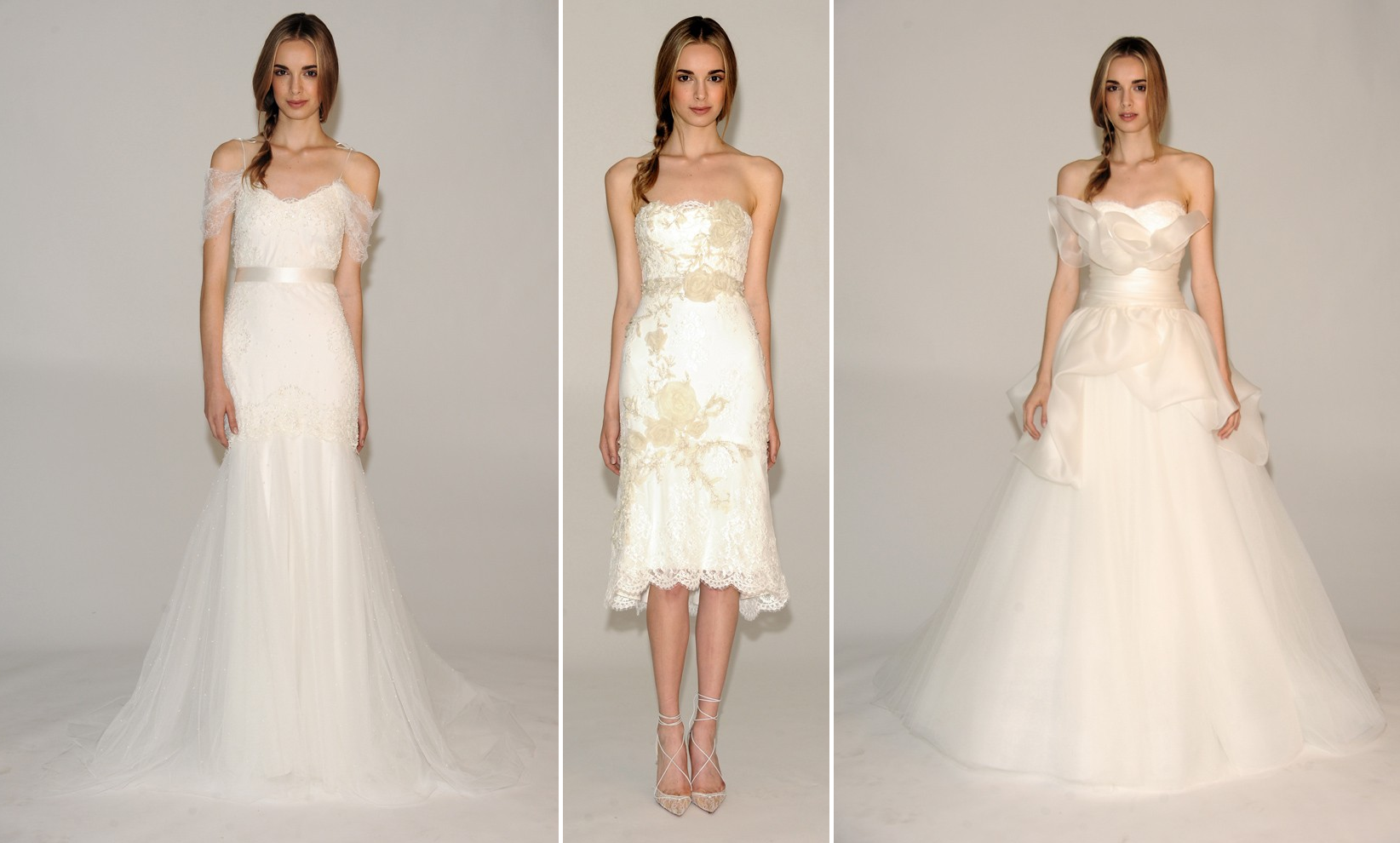 marchesa fall 2014 wedding dresses bridal runway report