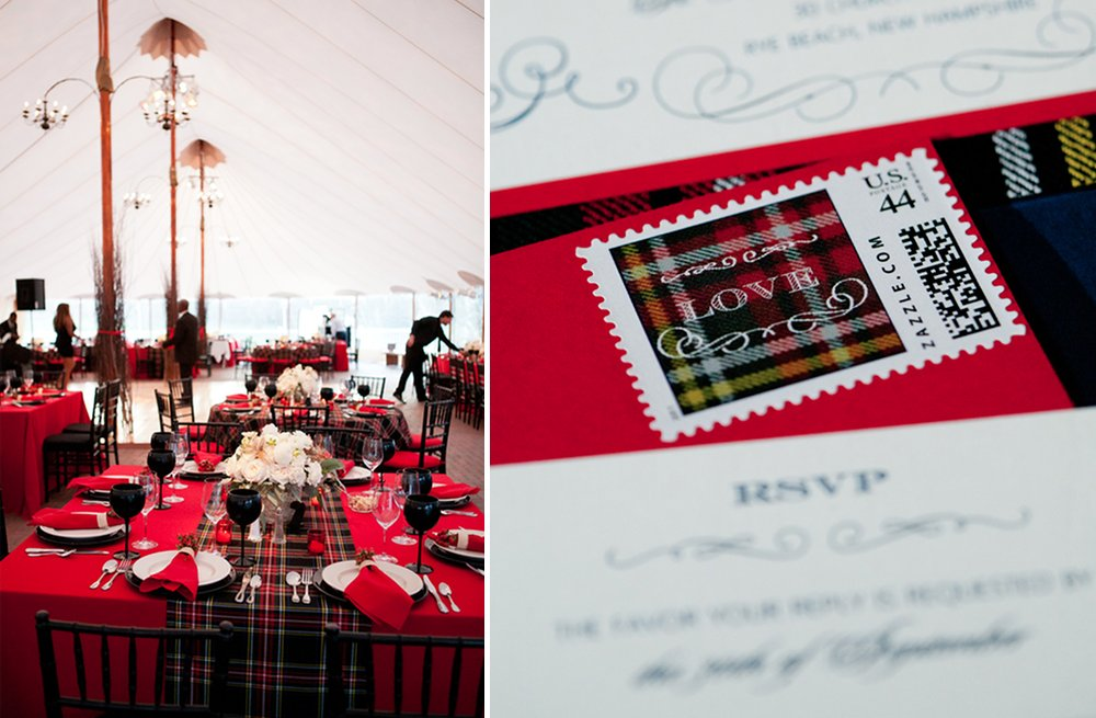 Plaid-wedding-reception-table-and-stationery.full