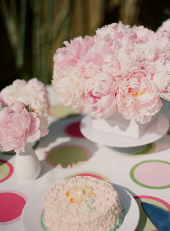 Romantic peony wedding flowers for your summer reception