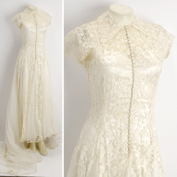 Vintage-wedding-dress-cap-sleeves-bridal-gown-lace.original