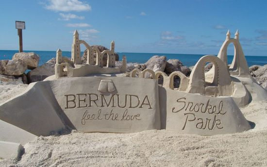 Snorkel Park Beach for honeymooners in bermuda