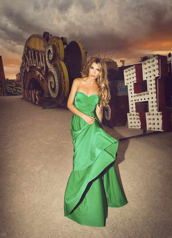 green infinity wrap bridesmaid dress