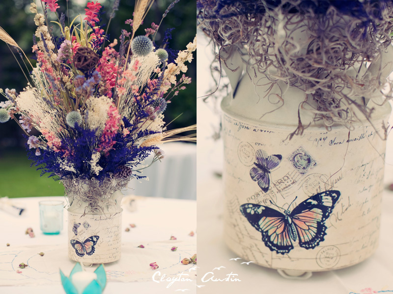 Outdoor-real-weddings-bohemian-bride-reception-centerpieces.full