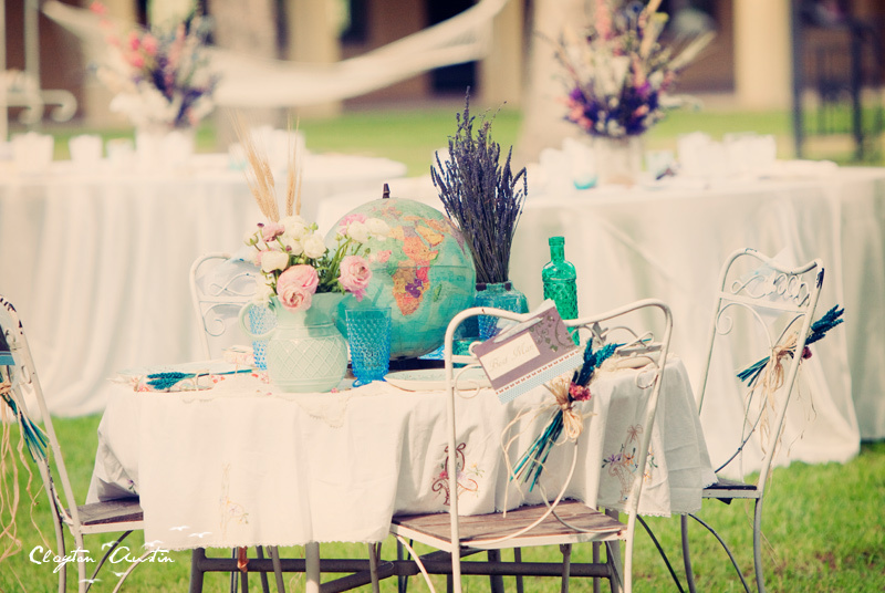 Boho Chic Wedding Reception Decor
