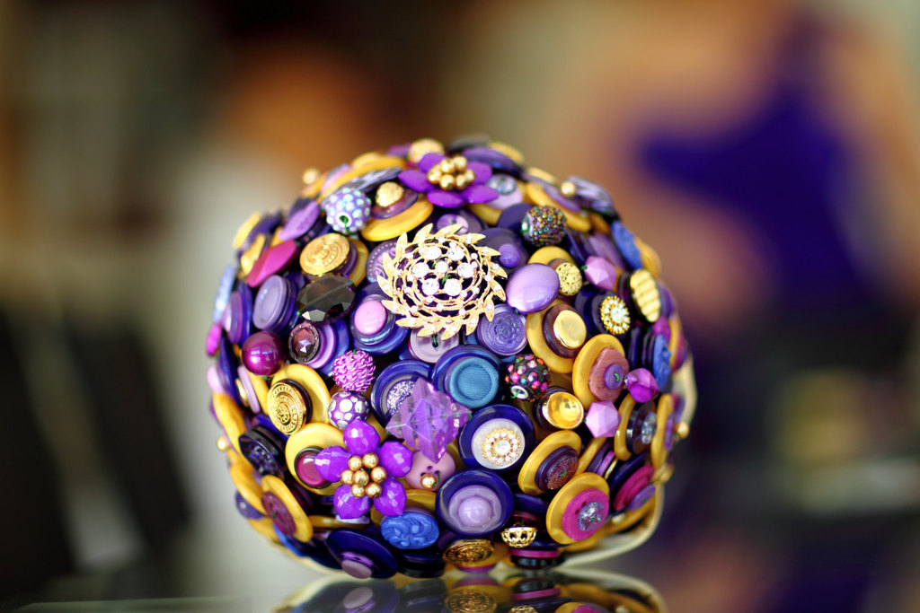 Gold-and-purple-button-bouquet.full