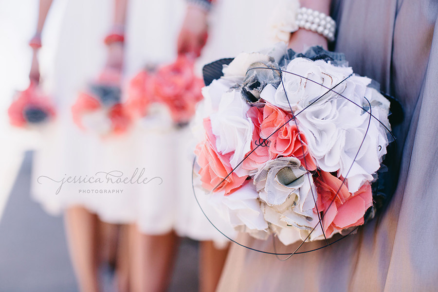 Unique-fabric-flower-bouquets-in-coral-white-and-ivory.full