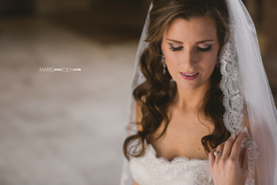 Beautiful Bridal Portrait by Mariel and Joey