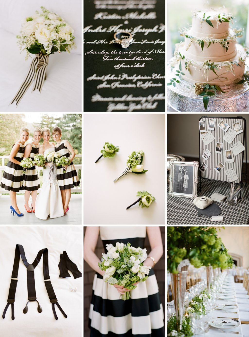 Wedding color palette of black white and green modern wedding color palette of black white and green junglespirit