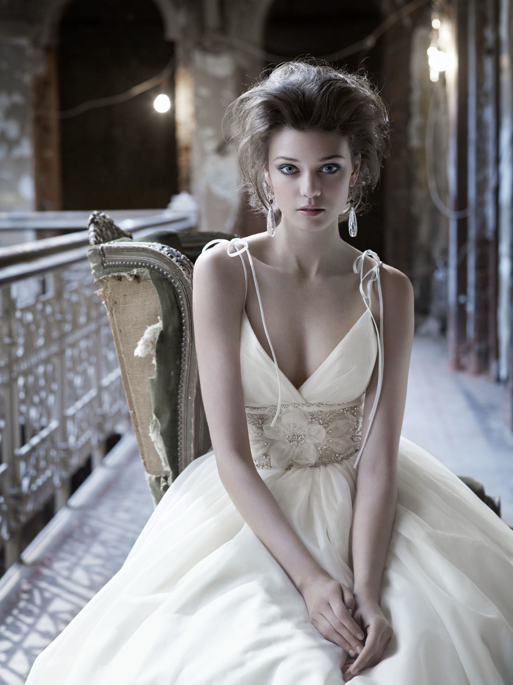 f62b7c71a331 'Fall 2011 Wedding Dresses: Old World Glamour, Vintage Details' Ideabook by  onewed on OneWed