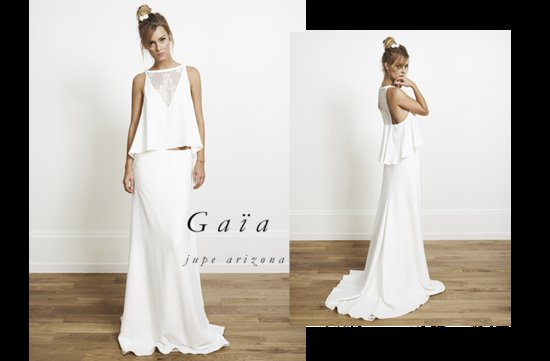 Gaia wedding dress by Rime Arodaky for Alternative Brides