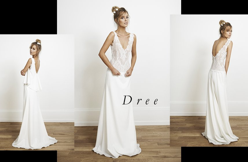 Dree Wedding Dress By Rime Arodaky For Alternative Brides