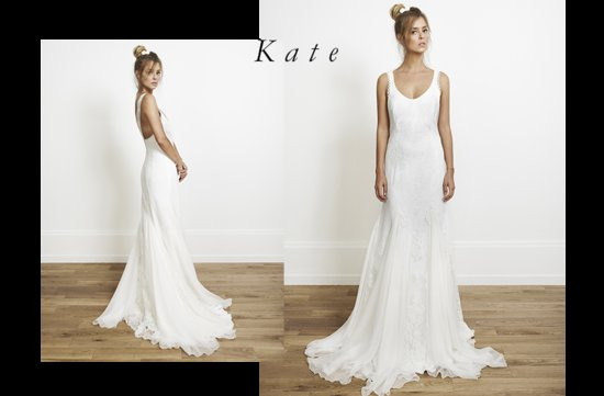 Kate wedding dress by Rime Arodaky for Alternative Brides