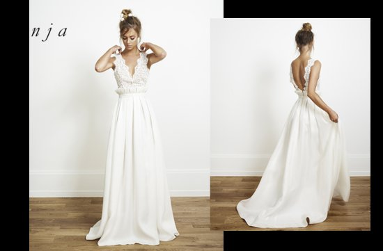 Anja wedding dress by Rime Arodaky for Alternative Brides