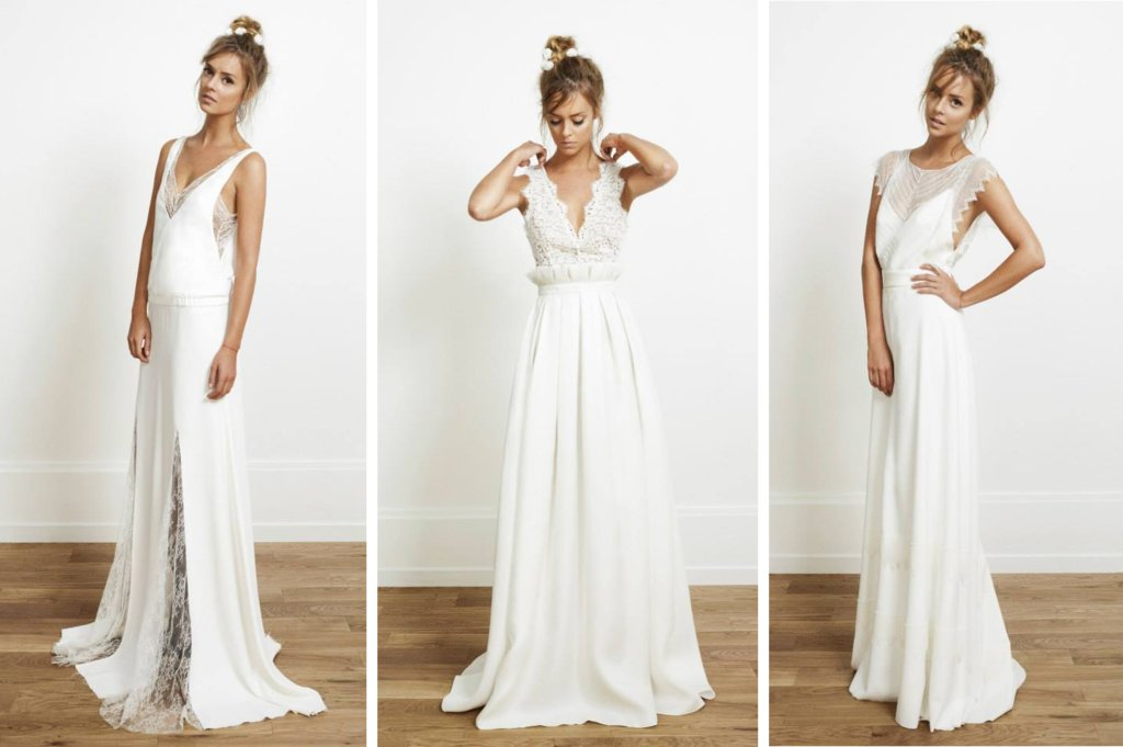 Edgy Bohemian Wedding Gowns