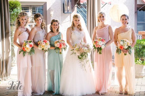 Romantic Trendy Bridesmaids Dresses