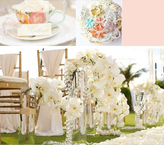 White Orchids Wedding Decor