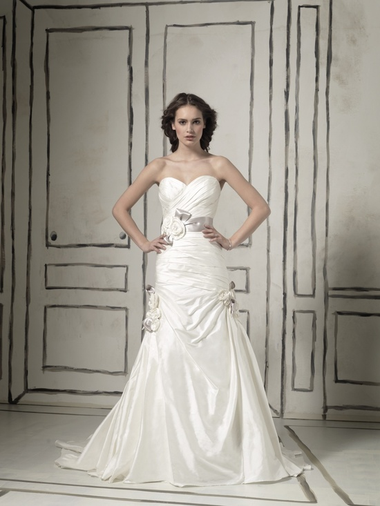 Romantic a-line wedding dress