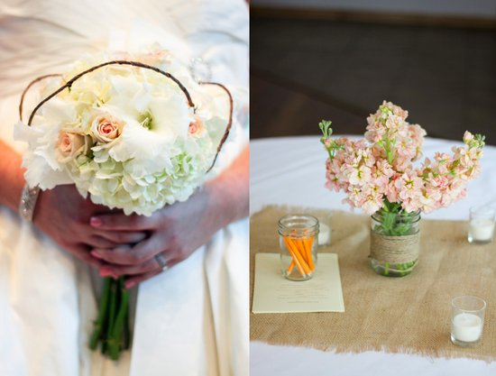 Rustic Modern Wedding Flowers