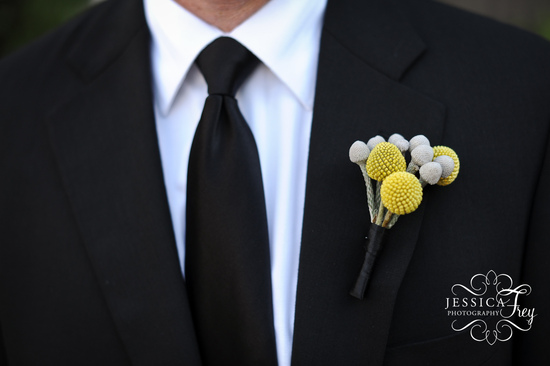 billy ball grooms boutonniere