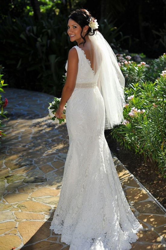 Classic Open Back Wedding Dress