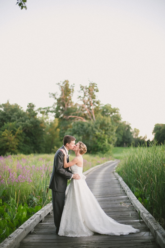 Intimate Outdoor Wedding Portrait