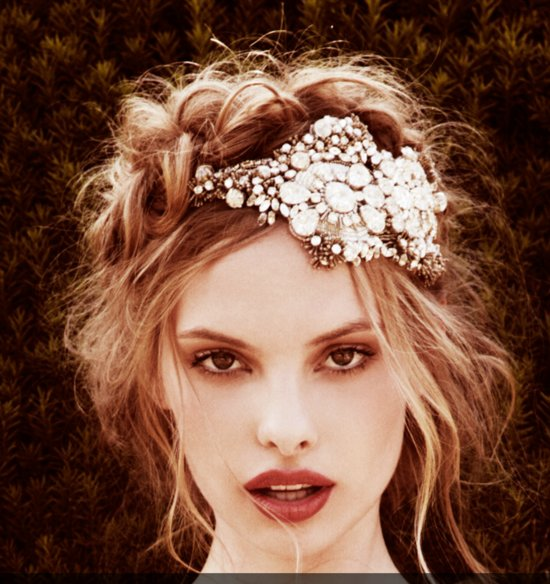 Bridal accessories by Jenny Packham