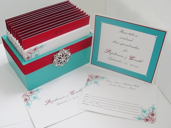 Romantic Custom Made Cards