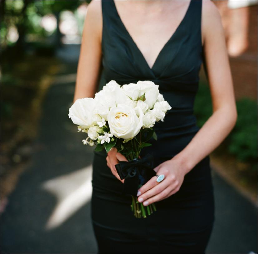 Wedding Bouquets For Black Bridesmaid Dresses: Vendors bustle ...