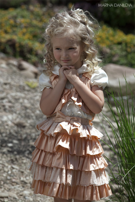 photo of Chic Flower Girl Dresses for the Little Femme Fatales