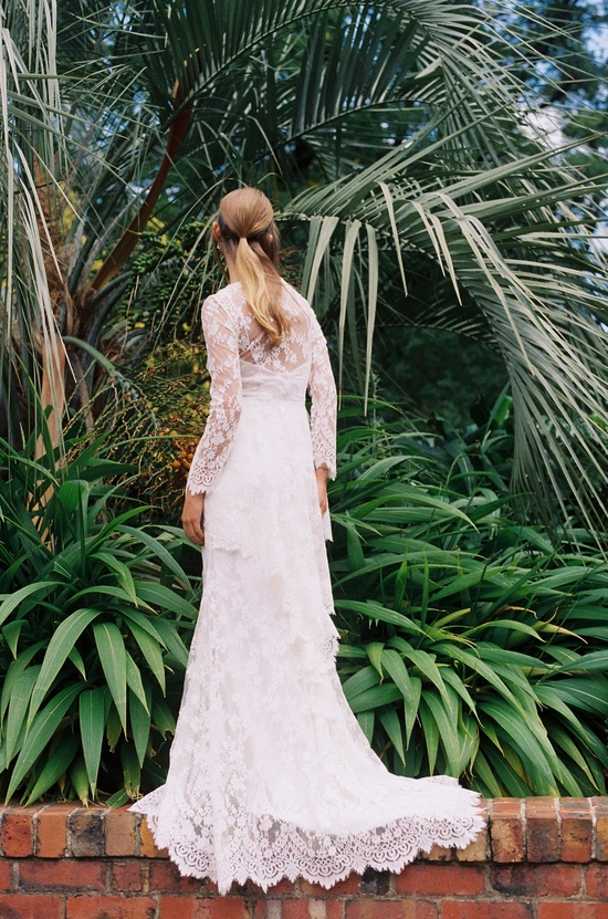 wedding dress by Mariana Hardwick A Provincial Romance bridal collection 1