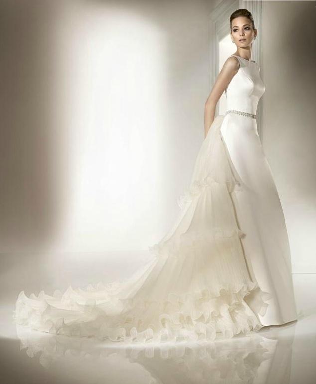 Wedding-dress-pepe-botella-bateau-neck-ruffles-bridal-belt.full