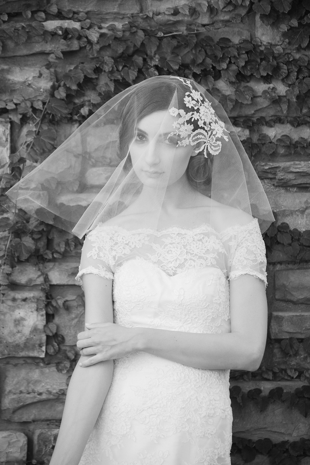 Enchanted Atelier Wedding Veils and Hair Accessories - Sareh