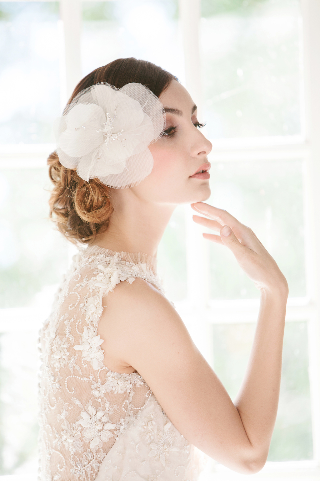 Enchanted Atelier Wedding Veils and Hair Accessories - Fleur Comb