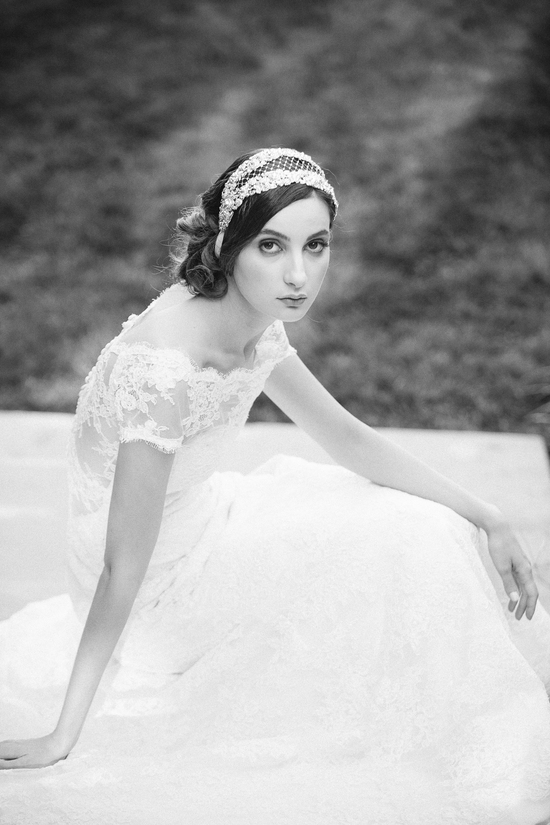 Enchanted Atelier Wedding Veils and Hair Accessories - Contessa Luxe Silver