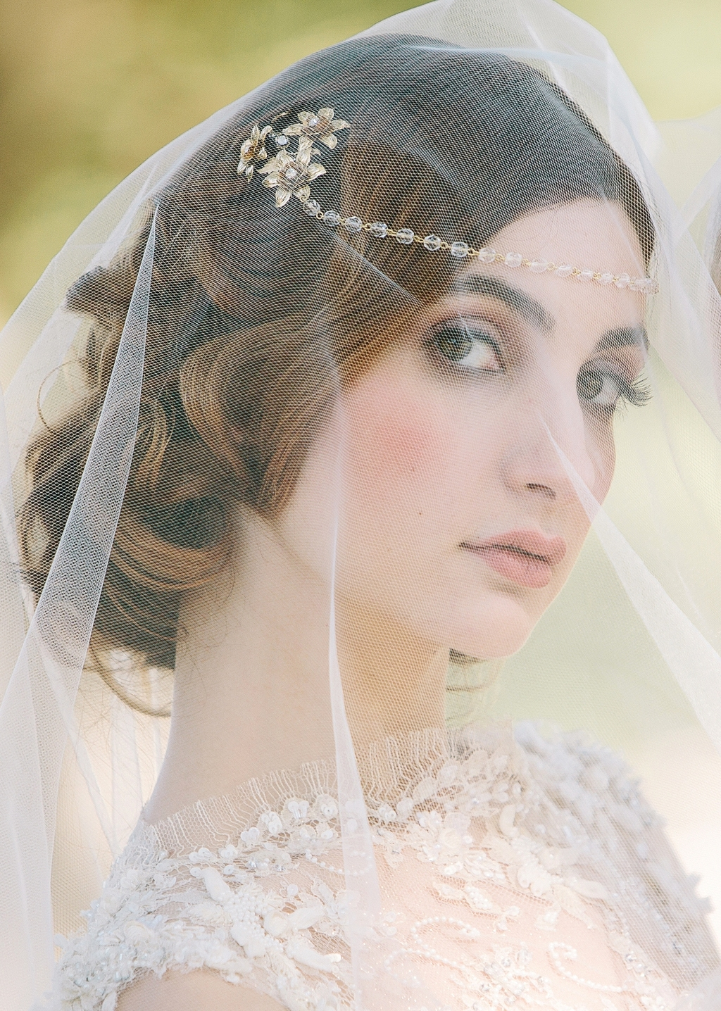 Enchanted Atelier Wedding Veils and Hair Accessories - Fleurie