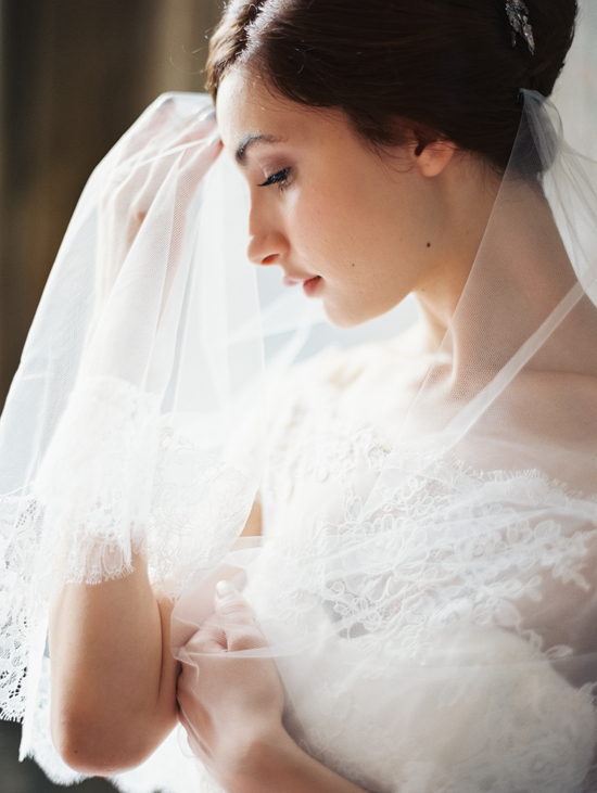 Enchanted Atelier Wedding Veils and Hair Accessories - Celine Veil