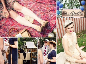 photo of Roaring 1920s Vintage Wedding Inspiration