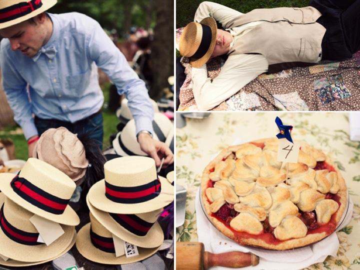 Summer Wedding Music Ideas : Casual summer wedding idea a roaring s outdoor