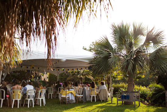Beautiful Destination Wedding in Bermuda- Outdoor Entertainment