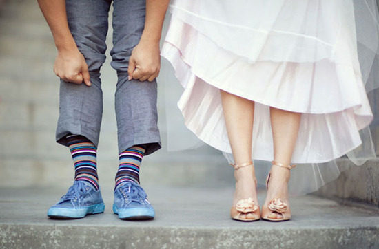 photo of Green Wedding Shoes