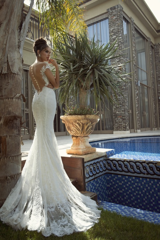 photo of 35 Best Statement Back Wedding Gowns of 2014