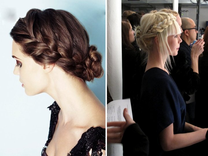 Bohemian Bride Wedding Hairstyle Get The Braided Look