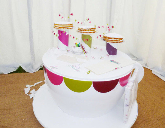 teacup wedding sweets table for whimsical weddings
