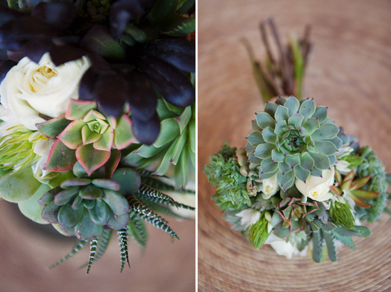 sweet succulents for green weddings 6