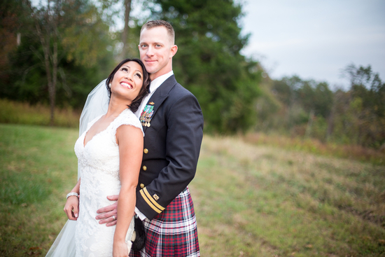 Filipino and Irish wedding couple