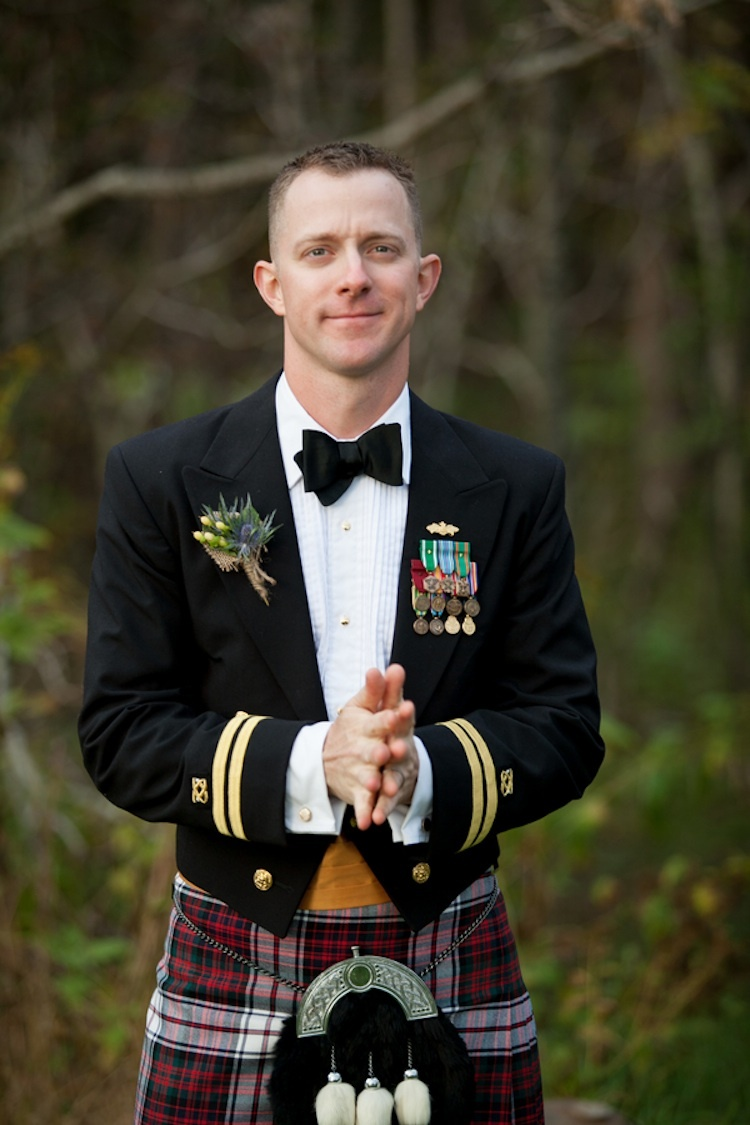 Irish groom at a Virginia real wedding