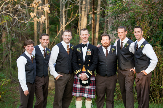 Irish groomsmen